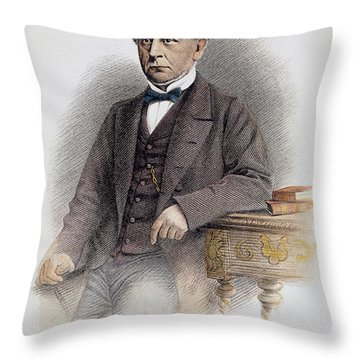 Charles Francis Adams Throw Pillow by Granger