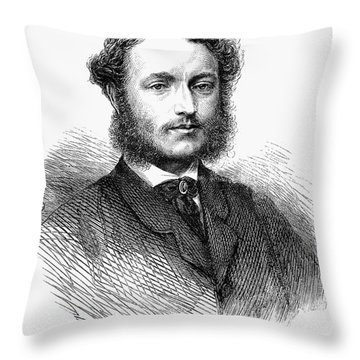Charles Hanbury-tracy Throw Pillow by Granger