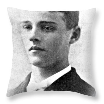 Charles Martin Hall, American Inventor Throw Pillow by Science Source