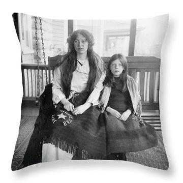 Charlotte Collyer Throw Pillow by Granger