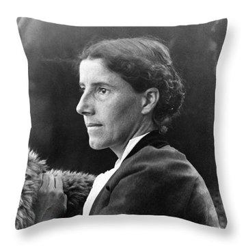 Charlotte Perkins Gilman Throw Pillow by Granger