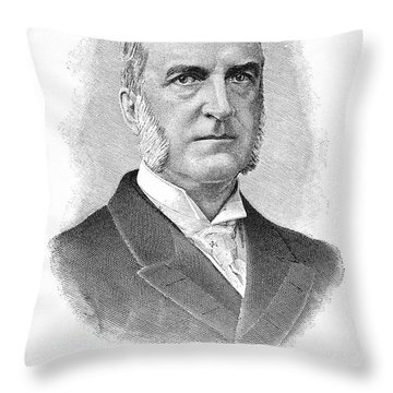Chauncey Depew (1834-1928) Throw Pillow by Granger
