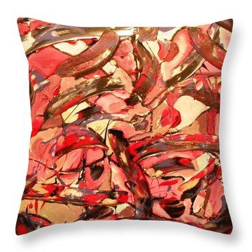 Cherries On Top Throw Pillow