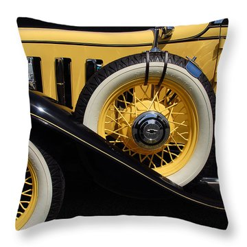 Throw Pillow featuring the photograph Chevrolet 1932 by John Schneider