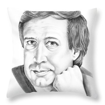 Chevy Chase Throw Pillow by Murphy Elliott