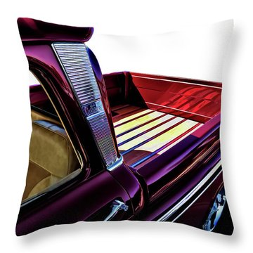 Chevy Custom Truckbed Throw Pillow