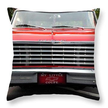 Chevy II Throw Pillow by John Black