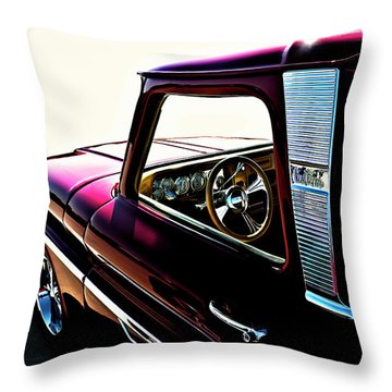 Chevy Pickup Throw Pillow
