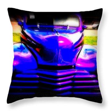 Chevy Reborn Throw Pillow by Susanne Van Hulst