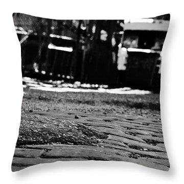 Chicago Cobblestone Throw Pillow