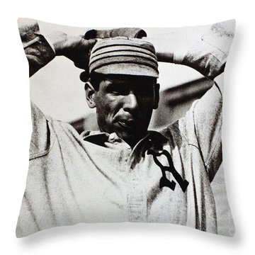 Chief Bender (1884-1954) Throw Pillow by Granger