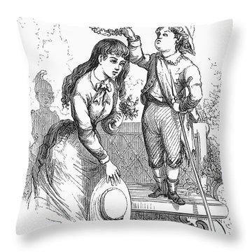 Children: Love Throw Pillow by Granger