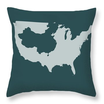 Immigrants Throw Pillows