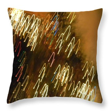 Christmas Card - Jingle Bells Throw Pillow