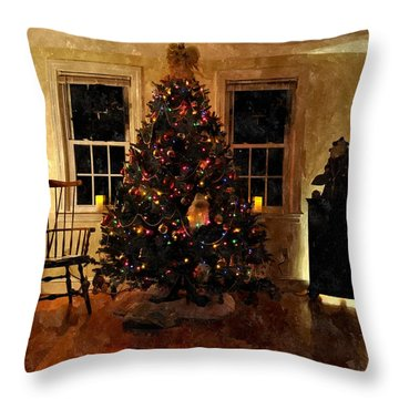 Christmas Past Cpwc Throw Pillow by Jim Brage