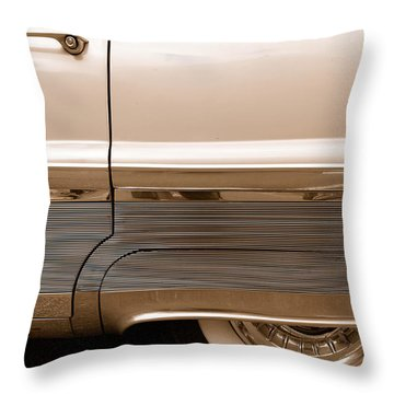 Throw Pillow featuring the photograph Chrome by John Schneider