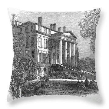 Ch�teau Margaux, 1867 Throw Pillow by Granger