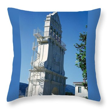 Church Bells Throw Pillow