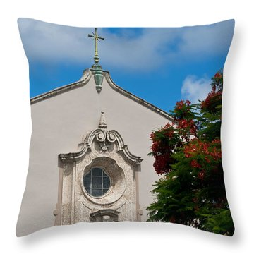 Throw Pillow featuring the photograph Church Of The Little Flower by Ed Gleichman