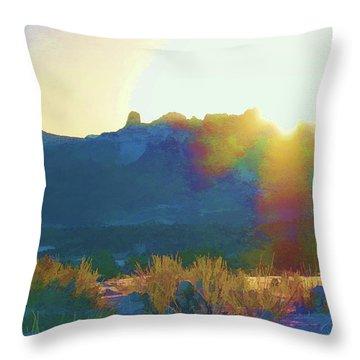 Cimarron Sunrise Throw Pillow