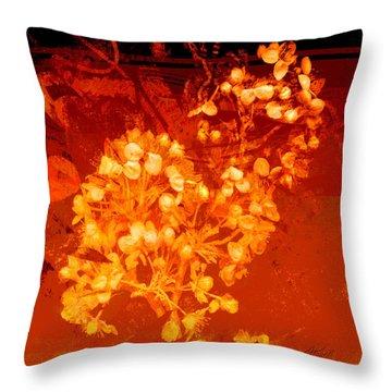 Cinnabar  Throw Pillow by Ann Powell