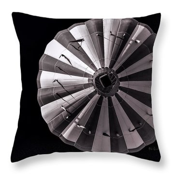 Circle Throw Pillow by Bob Orsillo