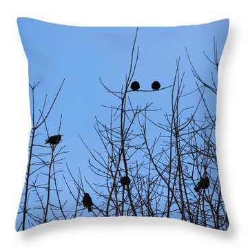 Throw Pillow featuring the photograph Circle Of Friends by Kume Bryant