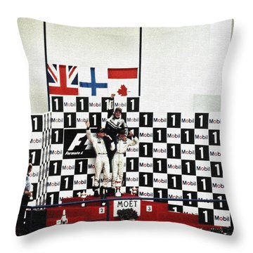 Circuito De Jerez 1997 Throw Pillow