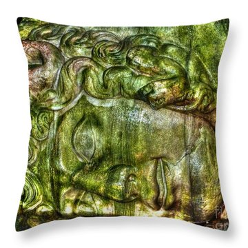 Cistern Medusa Throw Pillow by Michael Garyet