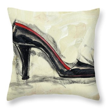 City Slick Throw Pillow by Richard De Wolfe