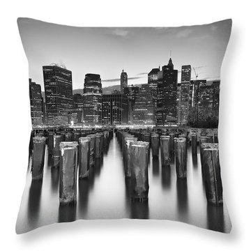 City Zen Throw Pillow