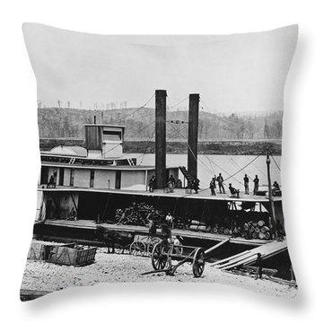 Civil War: Chickamauga Throw Pillow by Granger