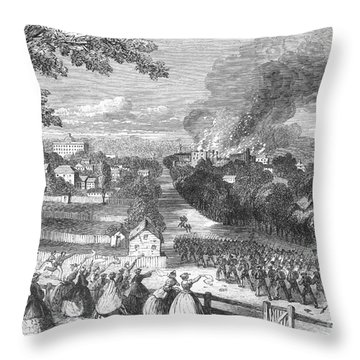 Civil War: Jackson, 1863 Throw Pillow by Granger