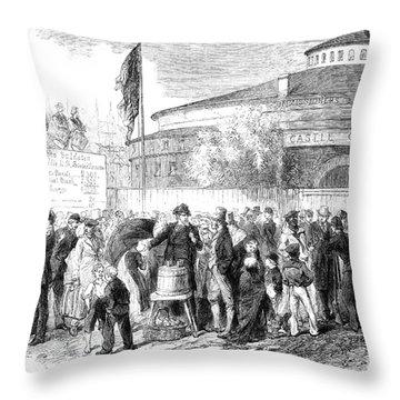 Civil War: Recruitment Throw Pillow