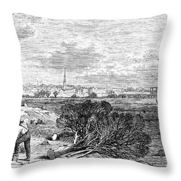 Civil War: Savannah, 1863 Throw Pillow by Granger