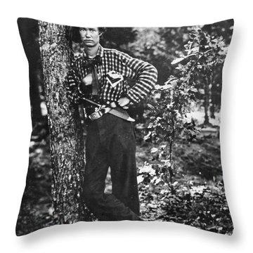 Civil War: Soldier, 1861 Throw Pillow by Granger