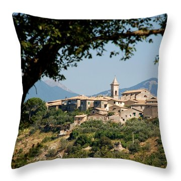 Throw Pillow featuring the photograph Civitavecchia by Dany Lison