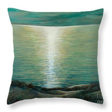 Claire De Lune Throw Pillow