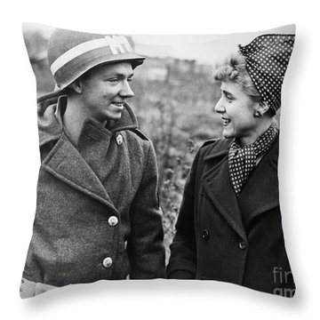 Clare Boothe Luce (1903-1987) Throw Pillow by Granger