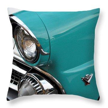 Classic Ford Throw Pillow by John Black