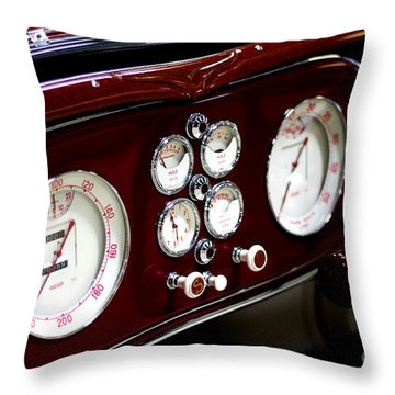 Classic Gauges Throw Pillow