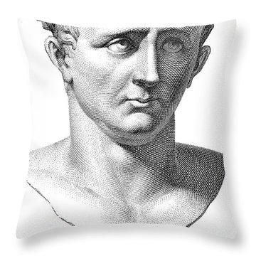 Claudius I (10 B.c.-54 A.d.) Throw Pillow by Granger
