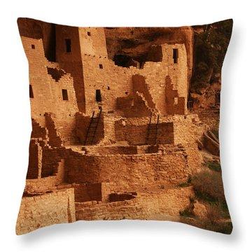 Cliff Palace Mesa Verde National Park Throw Pillow