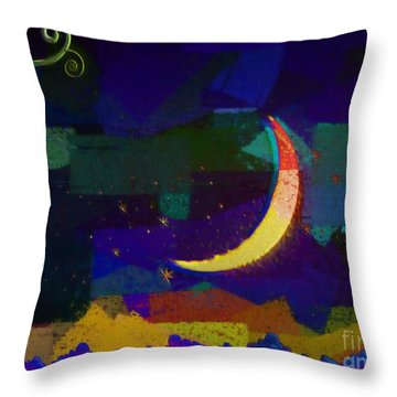 Climb To Your Dreams Throw Pillow