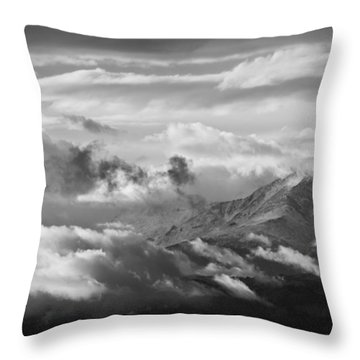 Cloud Art Throw Pillow