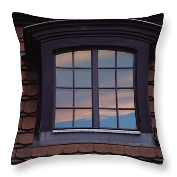 Cloud Reflections Throw Pillow by Brent L Ander