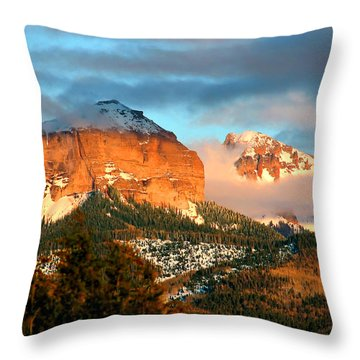 Cloud Shroud Throw Pillow