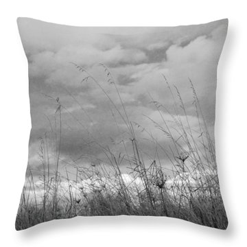 Throw Pillow featuring the photograph Cloud Watching by Kathleen Grace