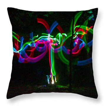 Clouded Throw Pillow by Xn Tyler