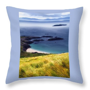 Coast Of Ireland Throw Pillow